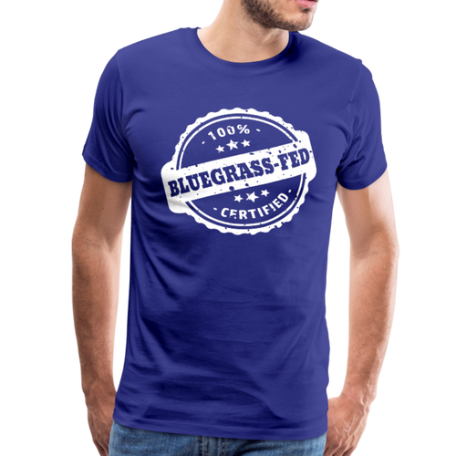 Men's Bluegrass-Fed T-Shirt - royal blue