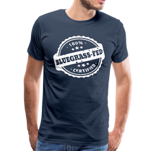 Load image into Gallery viewer, Men's Bluegrass-Fed T-Shirt - navy
