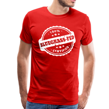 Load image into Gallery viewer, Men's Bluegrass-Fed T-Shirt - red