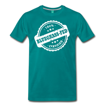 Load image into Gallery viewer, Men's Bluegrass-Fed T-Shirt - teal