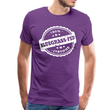 Load image into Gallery viewer, Men's Bluegrass-Fed T-Shirt - purple