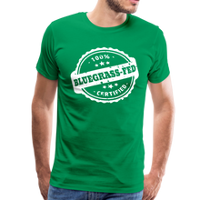 Load image into Gallery viewer, Men's Bluegrass-Fed T-Shirt - kelly green