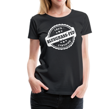 Load image into Gallery viewer, Women's Bluegrass-Fed T-Shirt - black