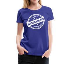 Load image into Gallery viewer, Women's Bluegrass-Fed T-Shirt - royal blue