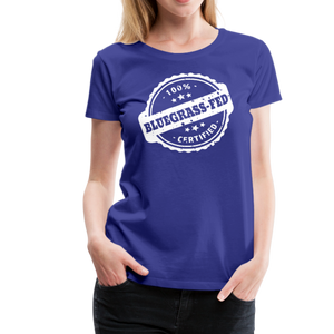 Women's Bluegrass-Fed T-Shirt - royal blue