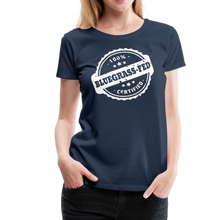 Load image into Gallery viewer, Women's Bluegrass-Fed T-Shirt - navy
