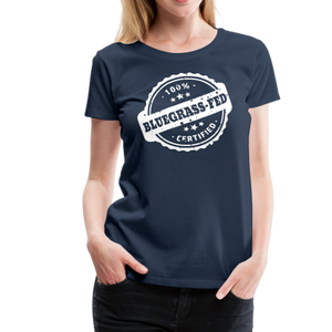 Women's Bluegrass-Fed T-Shirt - navy