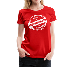 Load image into Gallery viewer, Women's Bluegrass-Fed T-Shirt - red