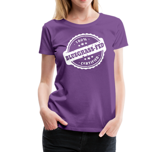 Women's Bluegrass-Fed T-Shirt - purple