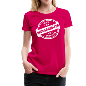 Women's Bluegrass-Fed T-Shirt - dark pink