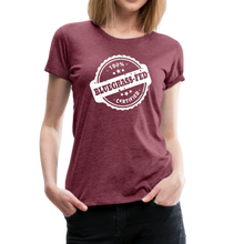 Load image into Gallery viewer, Women's Bluegrass-Fed T-Shirt - heather burgundy