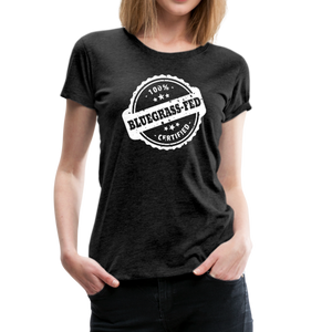 Women's Bluegrass-Fed T-Shirt - charcoal gray