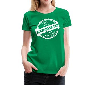 Women's Bluegrass-Fed T-Shirt - kelly green