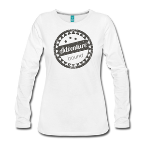 Women's Adventure Bound Long Sleeve T-Shirt - white