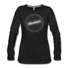 Load image into Gallery viewer, Women's Adventure Bound Long Sleeve T-Shirt - black