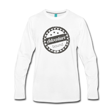 Load image into Gallery viewer, Men's Adventure Bound Long Sleeve T-Shirt - white
