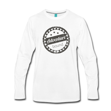 Men's Adventure Bound Long Sleeve T-Shirt - white