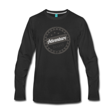 Load image into Gallery viewer, Men's Adventure Bound Long Sleeve T-Shirt - black