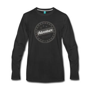 Men's Adventure Bound Long Sleeve T-Shirt - black
