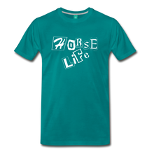 Load image into Gallery viewer, Men's Horse Life T-Shirt - teal