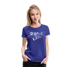 Load image into Gallery viewer, Women's Horse Life T-Shirt - royal blue
