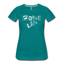 Load image into Gallery viewer, Women's Horse Life T-Shirt - teal