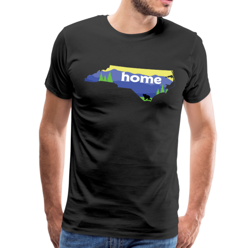 Men's North Carolina Home T-Shirt - black