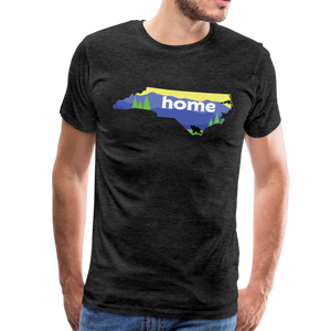 Men's North Carolina Home T-Shirt - charcoal gray