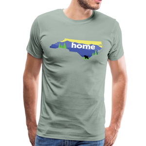 Men's North Carolina Home T-Shirt - steel green