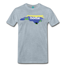 Load image into Gallery viewer, Men's North Carolina Home T-Shirt - heather ice blue