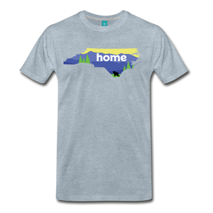 Men's North Carolina Home T-Shirt - heather ice blue