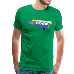 Men's North Carolina Home T-Shirt - kelly green