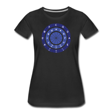 Load image into Gallery viewer, Women's Circle of Fifths T-Shirt - black
