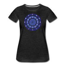 Load image into Gallery viewer, Women's Circle of Fifths T-Shirt - charcoal gray