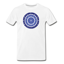 Load image into Gallery viewer, Men's Circle of Fifths T-Shirt - white
