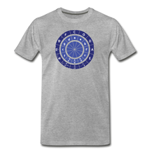 Load image into Gallery viewer, Men's Circle of Fifths T-Shirt - heather gray
