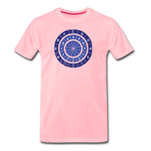 Load image into Gallery viewer, Men's Circle of Fifths T-Shirt - pink