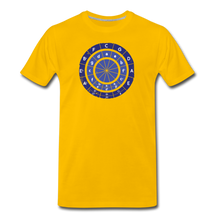 Load image into Gallery viewer, Men's Circle of Fifths T-Shirt - sun yellow