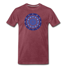 Load image into Gallery viewer, Men's Circle of Fifths T-Shirt - heather burgundy
