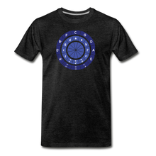 Load image into Gallery viewer, Men's Circle of Fifths T-Shirt - charcoal gray