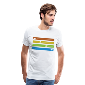 Men's Equine Movement T-Shirt - white