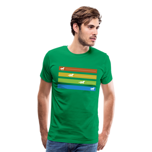 Men's Equine Movement T-Shirt - kelly green