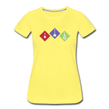 Load image into Gallery viewer, Women's Diamond Bluegrass T-Shirt - sun yellow