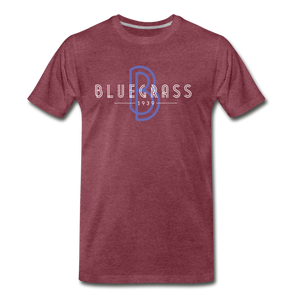 Men's 1939 Bluegrass T-Shirt - heather burgundy