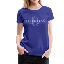 Load image into Gallery viewer, Women's 1939 Bluegrass T-Shirt - royal blue