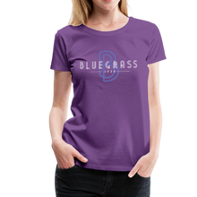Load image into Gallery viewer, Women's 1939 Bluegrass T-Shirt - purple