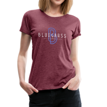 Load image into Gallery viewer, Women's 1939 Bluegrass T-Shirt - heather burgundy