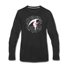 Load image into Gallery viewer, Men's When the Rain Comes Long Sleeve T-Shirt - black