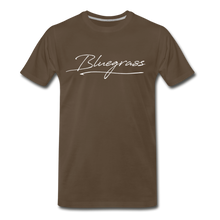 Load image into Gallery viewer, Men's Signed Bluegrass T-Shirt - noble brown