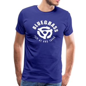 Men's Safe at any Speed T-Shirt - royal blue
